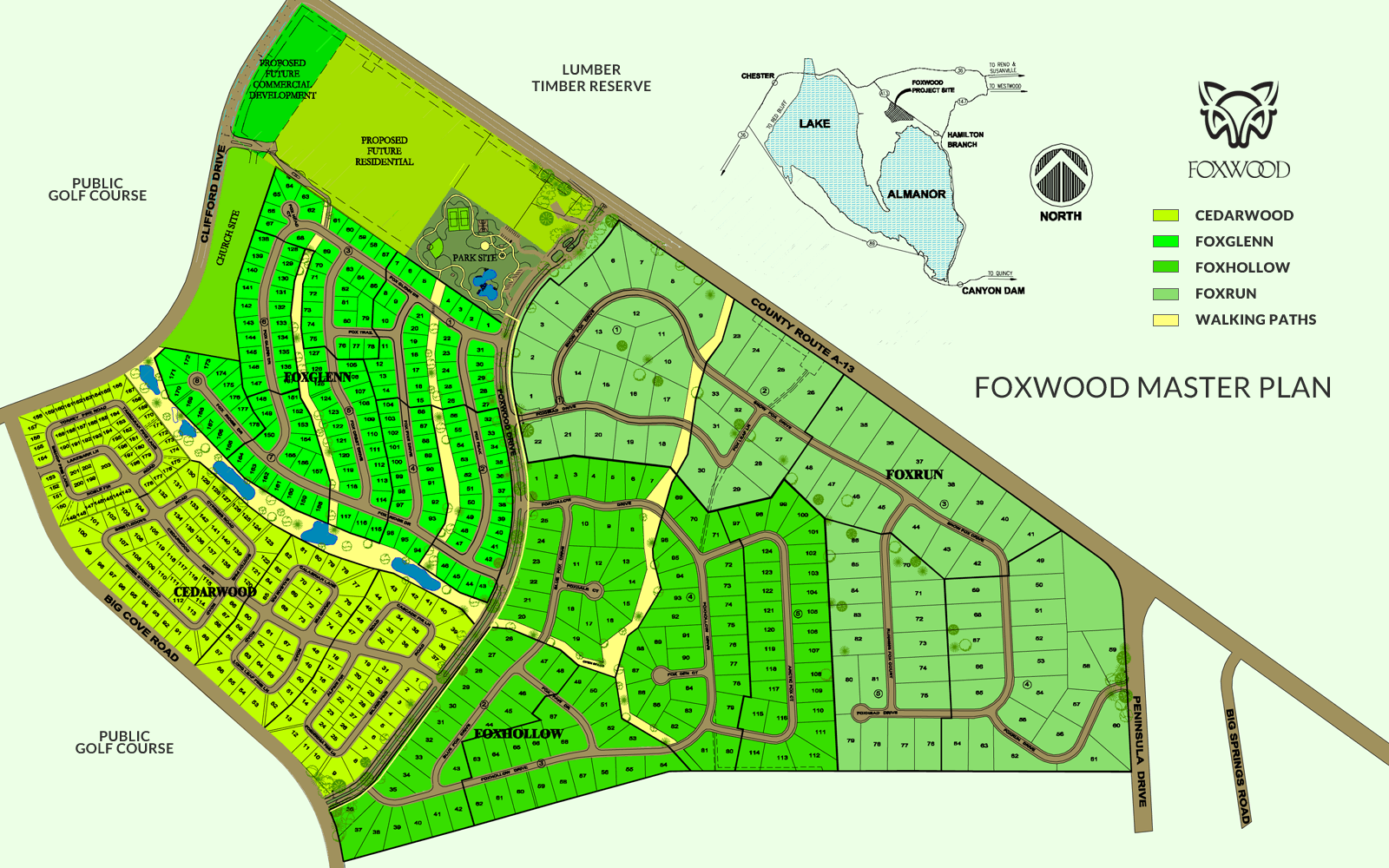 Foxwood Master Plan